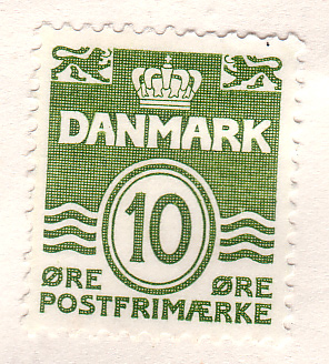 Stamp from Denmark