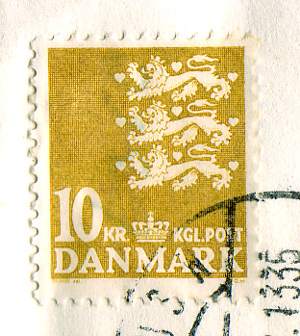 1982 Stamp from Denmark