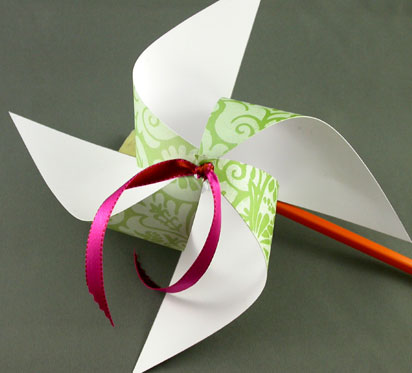pinwheel - paper crafts