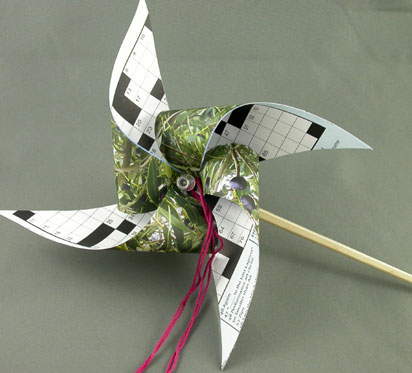 craft projects - pinwheel