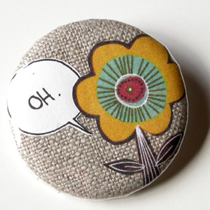 Collage Button Pin Workshop