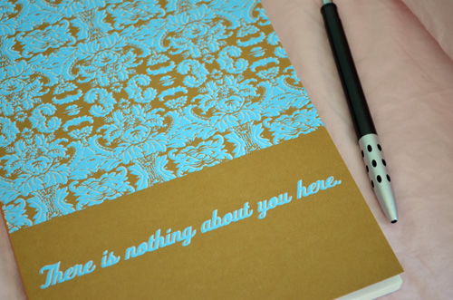 Collaboration project - screenprinted journal