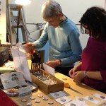 collage button making workshop - vancouver